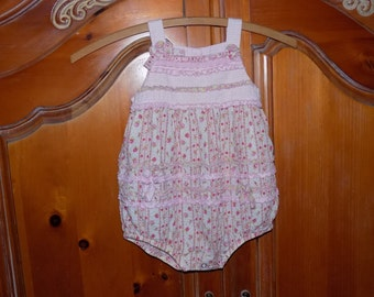 Sz. 3/4T Little Girls Sunsuit/Romper