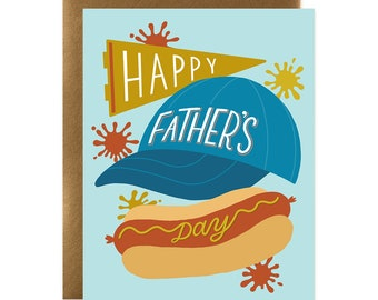 Happy Father's Day Sports Dog Card