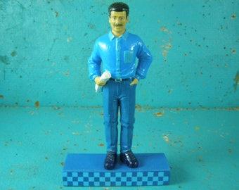 Cake Topper. Architect, Construction, Manager. Man's Gift, Birthday, Grooms Cake, Retirement, Boss Gift. Detailed Hard Plastic Figure.