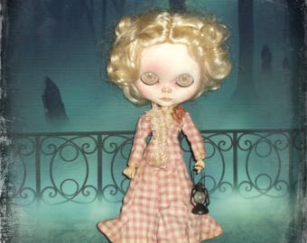 Blythe~ Only for Pure Neemo S Body ~ Victorian ~ Vintage  Inspired 3 Piece Outfit ~ By KarynRuby