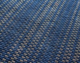 32 x 64 Handwoven navy rug