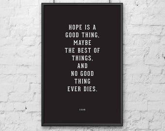 shawshank redemption essays hope