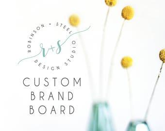 Branding Board, Custom Branding Board, Business Branding Board, Small Business Branding Board, Branding