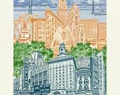 Oakland Art  // Art Print...