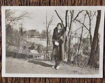 Original Vintage Photograph Fashionably Fiona