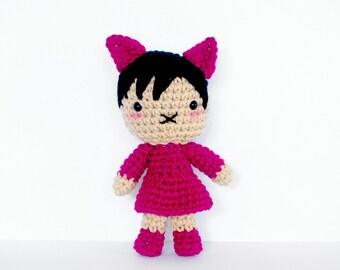 Emma - Roseberry Town Collection - Original Amigurumi Plush Doll by Roseberry Arts