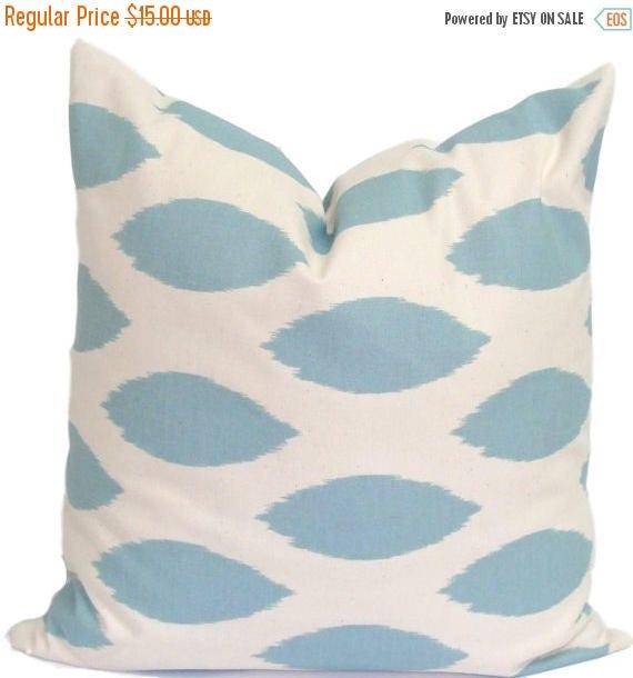 BLUE PILLOW.20x20 inch.Pillow Cover.Decorative Pillow Cover.Decorative Pillows.Blue Pillows.Housewares.Blue.Blue Throw Pillows.Toss Pillows
