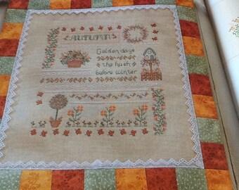 AUTUMN DAYS - Cross Stitch Pattern Only