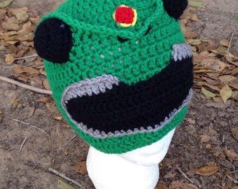 Green Power Rangers hat ANY size or color