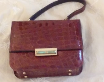 49 D Sale! Genuine Alligator Handbag