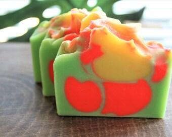Apple Mango Moisturizing Vegan Soap