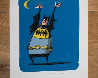 Batman - Limited edition Print