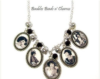 ON SALE Coco Chanel Necklace, Coco Chanel Picture Charm Necklace, Coco Chanel Photo Charm Necklace, Coco Chanel Jewelry