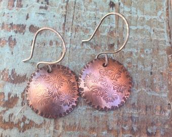 Copper Bohemian Earrings