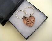Best Friend Gift, Best Friend Keychain, Copper, Best Fucking Friends, Key Ring