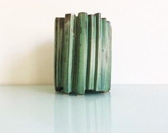 Vintage Ceramic Ikebana Vessel
