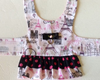 Dog Dress, Small Dog Dress, Dog Clothes, Dog Clothing, Pet Items, Made to Order, Teacup Dog Clothes, Toy Dog Clothes