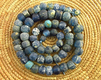Ancient North African Glass Beads