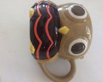 Owl mug vintage