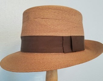 1950s Panama hat