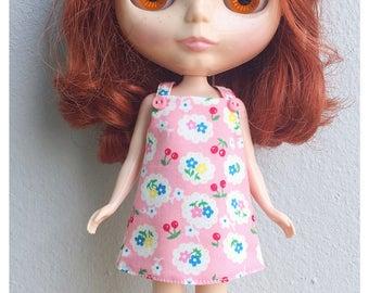 "Neo Blythe Outfit : ""Lovely Blossoms Dress"" (Dress)"