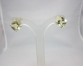 Lemon Citrine Earrings
