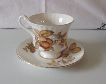 Paragon Autumn Leaf Cup and Saucer
