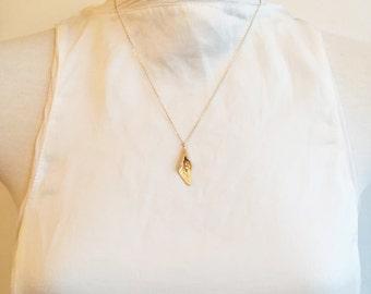 Calla Lily Pendant Necklace