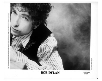 Bob Dylan Publicity Photo 8 by 10 Inches B&W