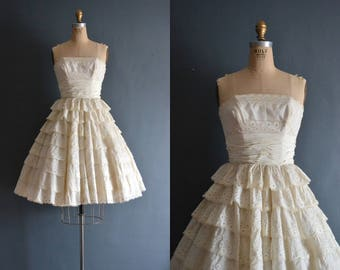 Patsy / 50s wedding dress / bridal gown