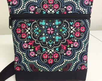 Vera Bradley Disney Print Crossbody Bag - Medallion