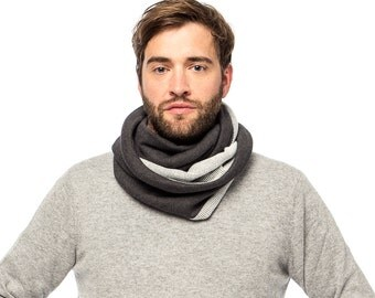 Mens scarf, Winter Scarf, Infinity Scarf, Mens Winter Scarf, For Him