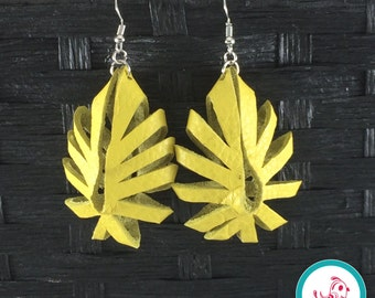 Sunshine Yellow Boho Chick Earrings
