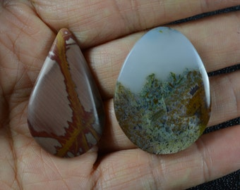 Clearance, Two Cabochons