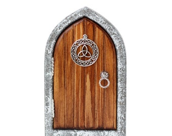 Celtic Castle Fairy Door for Home and Garden