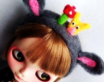 Fantasy Hair band  hand made  for blythe or similar dolls