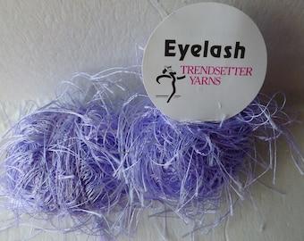 Sale Lilac #15 Eyelash  by Trendsetter Yarns