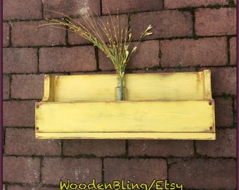 Bookshelf, Reclaimed Wood, Shelf, Wall Hanging shelf, Flower Box, Herb Container, Bathroom,  Boys, Girls, Kids Room, Personalized, Toy Box,