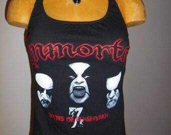 Immortal halter top Reconstructed Music Band Blashyrkh Black Metal