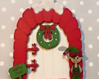 Elf Christmas doors