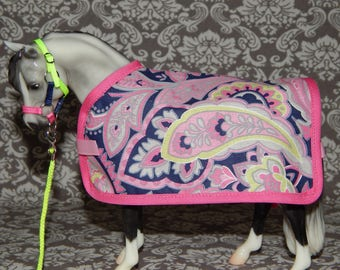 Pony/Classic  - Blanket & Halter Set for Model Horse