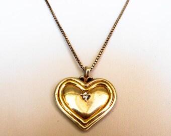 Sterling Grand Daughter Heart Necklace    Bradford Exchange