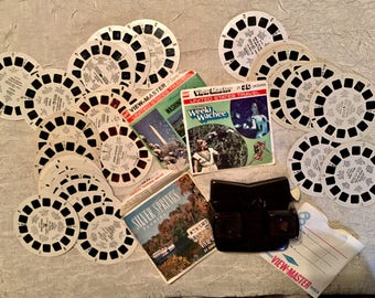 Vintage Dated 1951 Sawyer's View-Master with [31] Reels Dating From the 1948 thru 1968