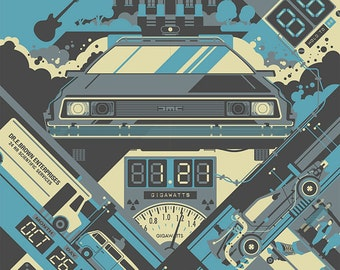 Back to the Future - 1985 - 24x36 inch Poster