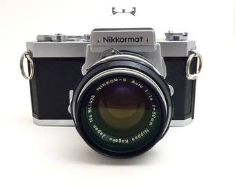 Nikkormat FT w/50mm f1.4 Lens