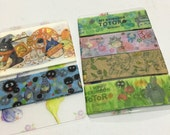 SAMPLE: 6 Designs of My neighbor Totoro Limited Edition Washi Tape (1m each)