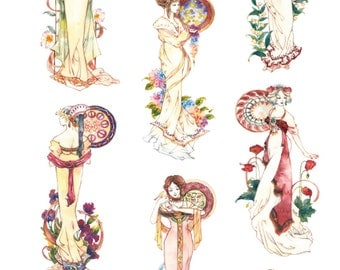 1 Roll of Limited Edition Washi Tape -Dream of the Goddess
