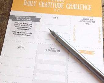 Gratitude Download, Gratitude Printable, Gratitude Journal, Weekly gratitude sheet, Digital Download, Instant Download you print yourself