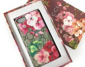 iPhone 6 6s 7 Case Painted bloom flower luxury case