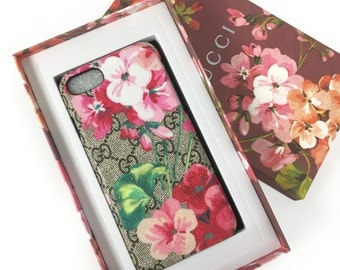 iPhone 6 6s 7 Case Painted bloom flower luxury case